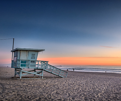 Los Angeles beach