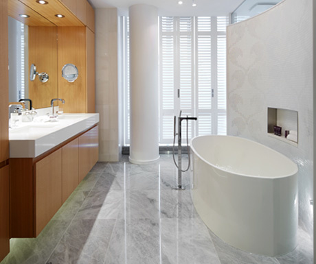 Ritz Residences bathroom