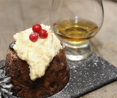 scottish-dessert-and-whisky