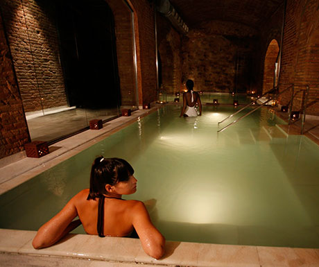Arabic Baths in Barcelona