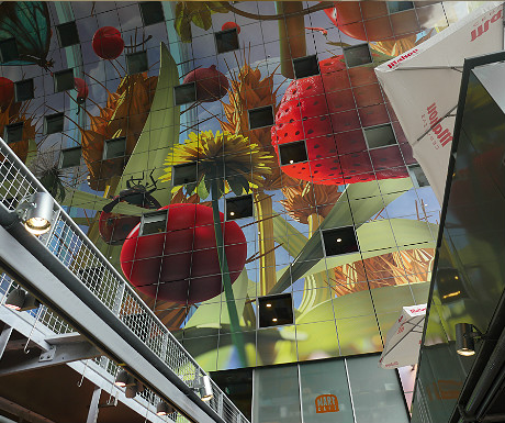 Markthal ceiling