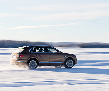 Bentley Power on Ice adventure