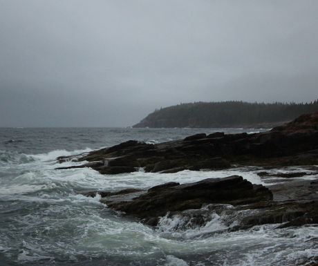 Acadia's wild and beautiful coastline