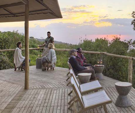 The Highlands, Tanzania, Whisky Bar Sundowner