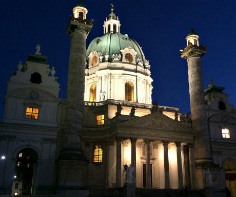 Vienna classical music venues: Karlskirche