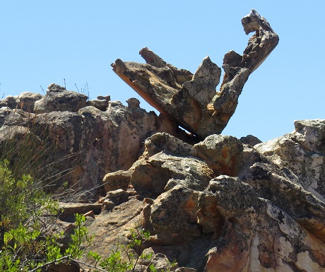 Kagga Kamma, rock sculpture
