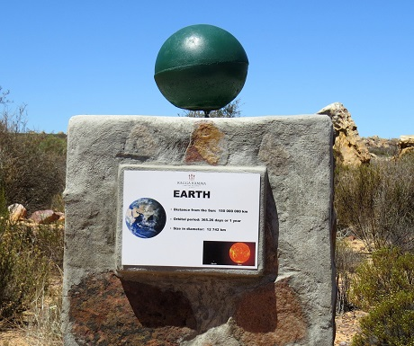 Kagga Kamma, planet Earth
