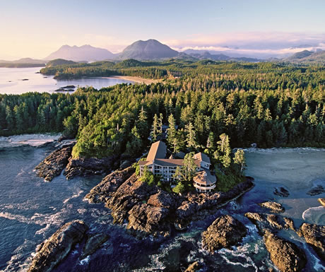 The Pointe Restaurant, The Wickaninnish Inn, Vancouver Island