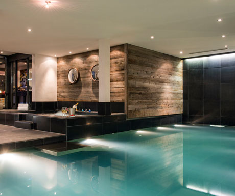 Swimming Pool at Lodge Verbier