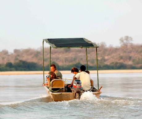 Sand Rivers Selous Boating - Nomad Tanzania