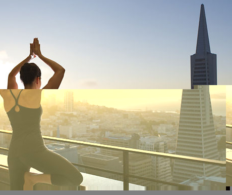 Yoga at Mandarin Oriental San Francisco