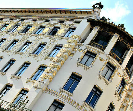 Vienna Neighbourhood: Otto Wagner House Koestlergasse
