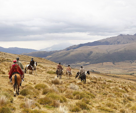 Ecuador range riding