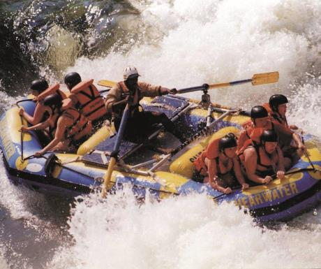 Rafting the Zambezi River Victoria Falls Hotel