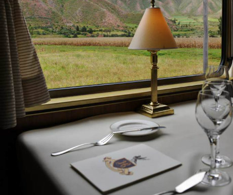 Hiram Bingham train to Machu Picchu