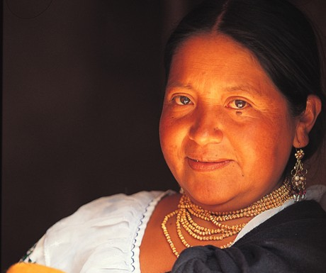 Andes - woman
