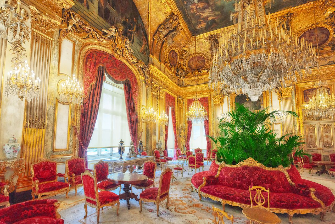 partments of Napoleon III in the Louvre